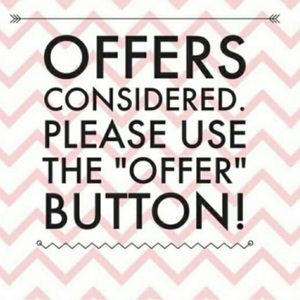 🎀ALL OFFERS ARE CONSIDERED 🎀